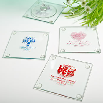Personalized Glass Coasters: Exclusive Designs for All Occasions & Seasons