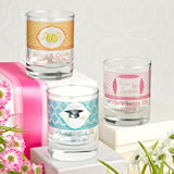 <em>Clearly Custom</em> Votive / Shot Glass with Personalized Sticker - 3.5oz