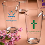 Religious Personalized Pint Glasses