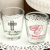 <em>Personalized Shot Glasses for Baby Showers 1 3/4 oz</em>