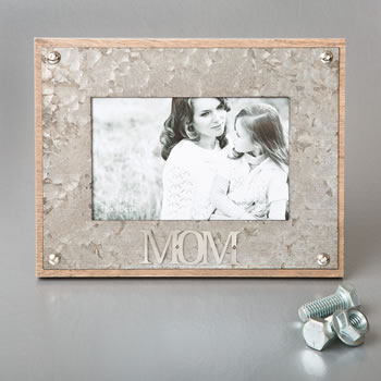 industrial style metal frame 4 x 6 from gifts by fashioncraft - MOM