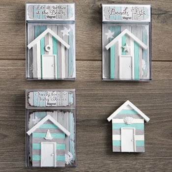 Boat house magnets - 4 different styles from gifts by fashioncraft