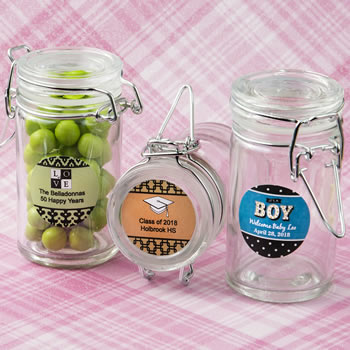 Anniversary, Graduation Personalized Expressions Collection Apothecary Jar Favor