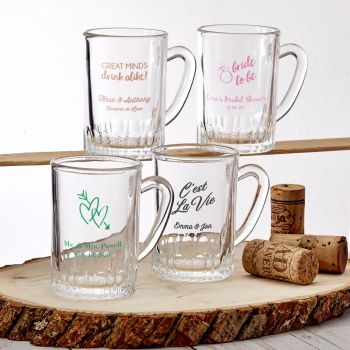 Design your own collection personalized screen glass Shot Glass mug