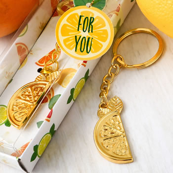 Citrus Key Chain