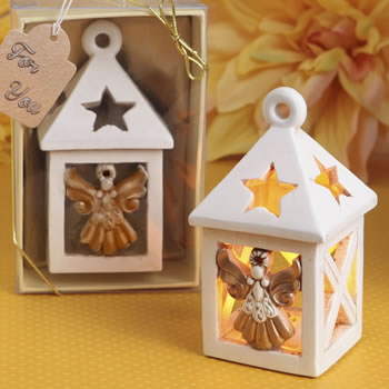 Guardian Angel lantern with LED light