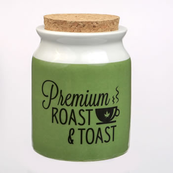 Premium Roast & Toast Stash Jar - large