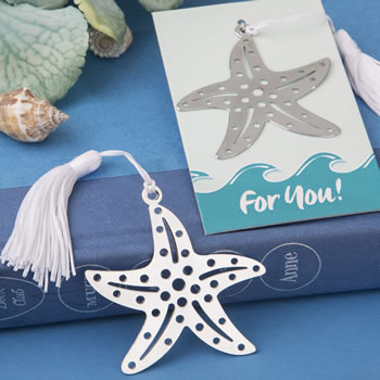 Book lovers collection starfish bookmarks for beach themed favors