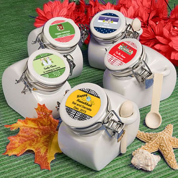 Design Your Own Collection  Ceramic Jar  Favors - Holiday