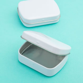 Perfectly Plain Collection  Mint  Tins