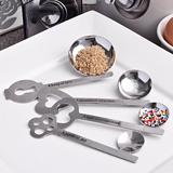 """Keys to Love Beyond Measure"" measuring spoon sets"