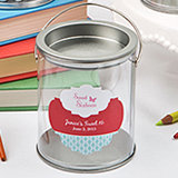 Customized Large Paint Can Candy Tin