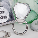 <em>Bling Collection</em> diamond ring bottle openers