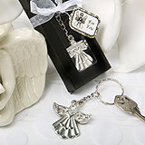 Religious Guardian Angel Key Ring Favor