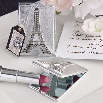 Eiffel Tower design mirror compacts