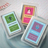 Religious Playing Card Favors - With Personalized Box