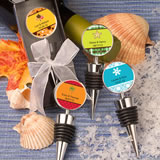 Fall/ Autumn Personalized Expressions Collection Wine  Bottle Stopper Favors