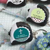 Personalized  Religious Expressions Collection Key Chain / Measuring Tape Favors
