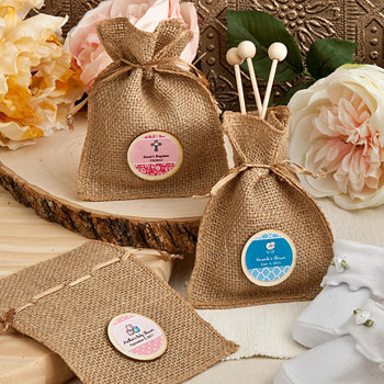 Burlap Favor Bags from the  Design Your Own Collection