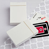 Perfectly Plain Collection Playing Card in Cardboard Box Favors