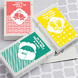 Playing Card Favors with Personalized Box. Simply Stylish Collection
