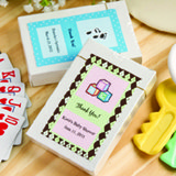 Baby Shower Design your Own Collection Playing Cards - With Personalized Box