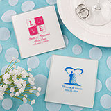 Silkscreened Glass Coasters personalized directly on the coaster