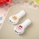 Personalized expressions collection car charger USB port