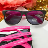 Personalized Collection Plastic wayfarer style sunglasses