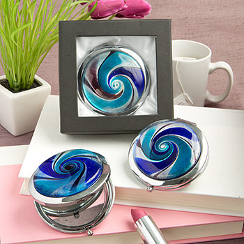 Gifts by Fashioncraft  Murano Mirror Compact