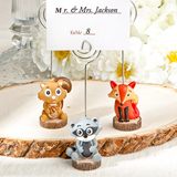 Critter-inspired place card holders