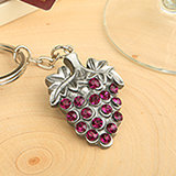 Vinyard  collection Grape Vine  Design Keychain