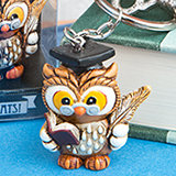 Wise Graduation Owl Key Ring from Fashioncraft