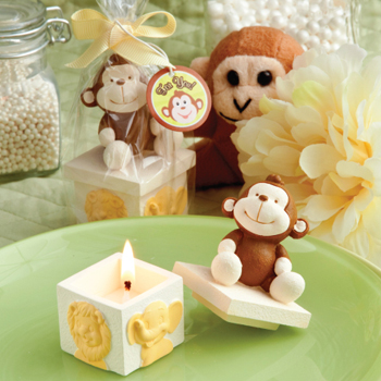 Animal Design Candle Favors
