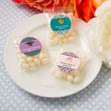 Personalized expressions Collection White Jelly Beans in Cherry fruit flavor