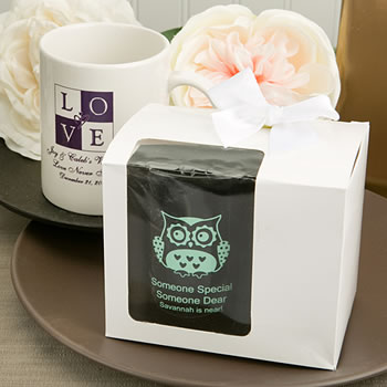 White Gift Box For Personalized Coffee Mug / Handy mug