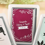 Vintage Design Collection playing card favors