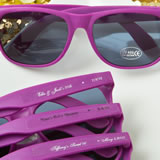 Personalized collection purple fashion sunglasses