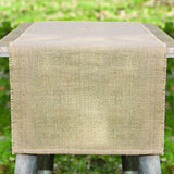 Plain Burlap Table Runner