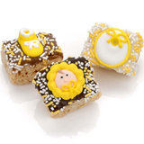 New Baby Neutral Chocolate Dipped Mini Crispy Rice Bars- Individually Wrapped