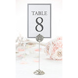 St of 4 Jeweled Table Markers