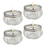 Lillian Rose Set of 4 Tealight Cups