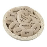 Lillian Rose Vow Stones (Set of 13 Stones with Plate)