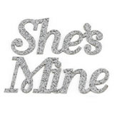 "Lillian Rose ""She's Mine"" Shoe Stickers"