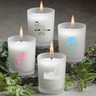Personalized Candles & Glassware Favors