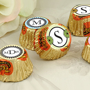 Personalized Monogram Hersheys Reese's (34 designs available)