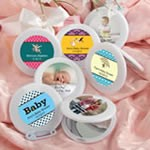 Personalized Expressions Collection Mirror Compact Favors - Baby