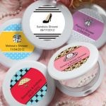 Personalized Expressions Collection Mirror Compact Favors - Wedding Shower