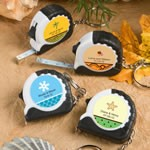 <em>Personalized  Expressions Collection</em> Key Chain/Measuring Tape Favors