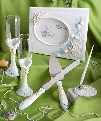 Finishing Touches  Collection  Of Beach Themed Wedding Day Accessories